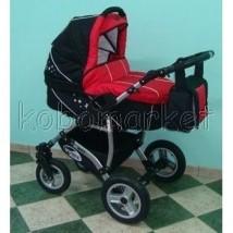Wózek spacerowo-głęboki WIKI STAR z fotelikiem samochodowym
