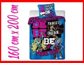Monster High Licencjonowany komplet pościeli 160 x 200 cm