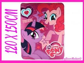 Koc Polarowy My Little Pony 120 x 150cm