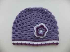 Szydełkowe czapeczki dla dzieci niemowląt