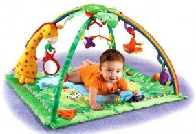FISHER PRICE MATA EDUKACYJNA RAINFOREST rainforest