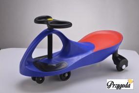 Jeździk Plasma Car Swing Car jeździk grawitacyjny niebieski