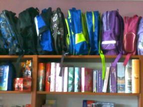 art. szkolne podręczniki plecaki