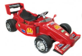 Jeżdzik z kierownicą dla dziecka FORMUŁA F1