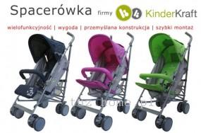 Wózek spacerówka 3 kolory model 2012