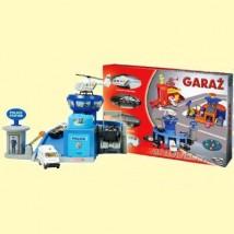 Garaż oraz 4 pojazdy