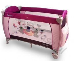 Łóżeczko dziecięce kojec Baby First z podwieszaną podłogą Beticco Baby