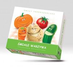 Układanka edukacyjna Śmiałe Warzywa