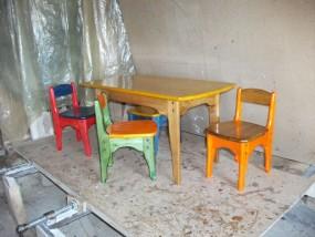 Krzesełka  i stolik