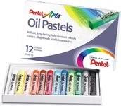 Pastele olejne 12 kolorów Pentel