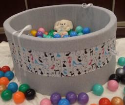 Piankowy Basenik z piłeczkami dla dzieci EDYCJA LIMITOWANA