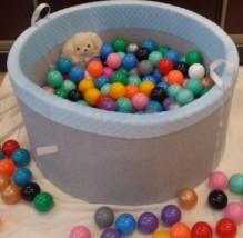 Suchy basenik z piłeczkami dla dzieci LIMITED