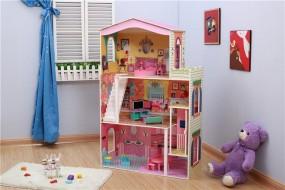 Drewniany Domek dla lalek TD001