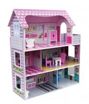 Drewniany Domek dla lalek 139