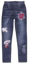 getry legginsy jeans dla dziewczynek