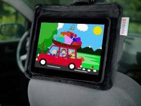 Uniwersalny uchwyt na tablet do samochodu TULOKO czarny