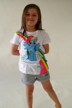 Koszulka dla dziewczynki RAINBOW DASH