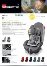 Fotelik samochodowy 9-25kg Delta