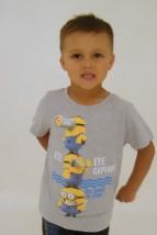 Bluzka dla chłopca minionki
