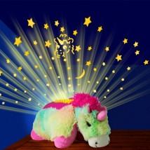 Lampka nocna z projektorem gwiazd Dream Lite Jednorożec, Pies, Pingwin