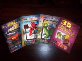 Kolorowanka 3D zabawki dla dzieci