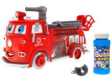 Straż pożarna z bańkami auto