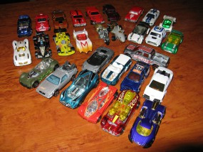 Hot Wheels, różne modele