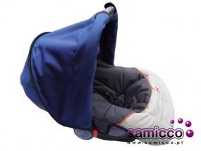 BUDKA daszek do fotelika osłona przeciwsłoneczna parasolka nosidełka