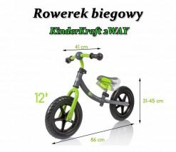 Rowerek biegowy 2WAY