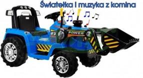 Traktorek na akumulator 2 silniki ZP1005