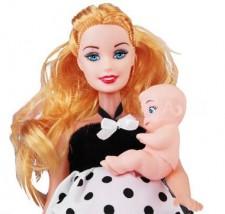 Lalka w ciąży + niemowlę TBO1834986