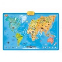 Interaktywna Mapa Zwierzęta Świata DD 60846