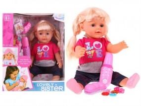 Interktywna lalka z akcesoriami WZJ016-2