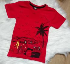 Koszulka Sommer czerwona