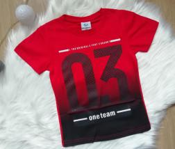 Koszulka 03 czerwona
