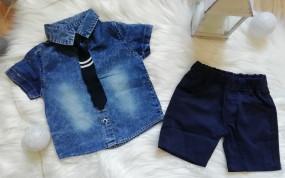 Koszula jeansowa+spodenki