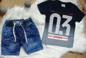 Koszulka+spodenki jeansowe
