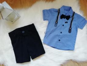 Koszula z szelkami + spodenki