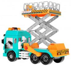 auto Dźwig Zwyżka ciężarówka z dźiękami pojazdy budowlane 9887 9887