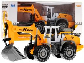 Kopara pojazdy budowlane duża KOPARKA 9998-21 9998-21