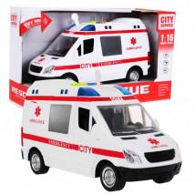 AUTO KARETKA ambulans Szpitalny światło dźwięk WY590A WY590A