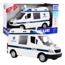 Auto Policja FURGONETKA policyjna światło dźwięk WY590B WY590B