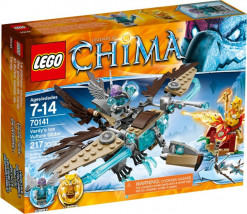LEGO CHIMA 70141 SZYBOWIEC LODOWY VARDY'EGO 70141