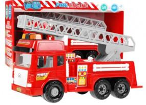 STRAŻ POŻARNA wóz strażacki z drabiną dźwięk 9885