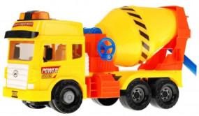 BETONIARKA duża ciężarówka auto pojazdy budowlane 9882