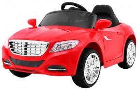Pojazd na akumulator Auto CITY RIDE koła piankowe CZERWONY S2188 S2188