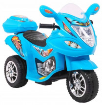 SKUTER MOTOR ŚCIGACZ MOTOREK NA AKUMULATOR BJX-088 NIEBIESKI LL1188