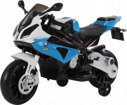MOTOR BMW na AKUMULATOR 2 x silnik motorek S1000RR NIEBIESKI JT258