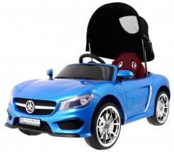 Pojazd na akumulator AUTO elektryczne Roadster z baldachimem NIEBIESKI HC-6588