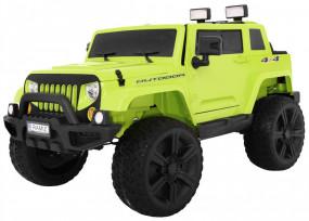 JEEP NA AKUMULATOR Pojazd elektryczny AUTO Mighty 4x4 ZIELONY HL-1668 HL-1668